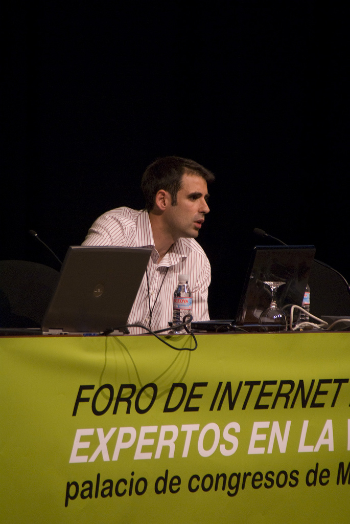 Juan Agustín Jiménez - Canalmail en Foto de Internet 2008