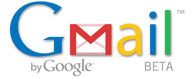 Logo de Gmail incluye palabra Beta